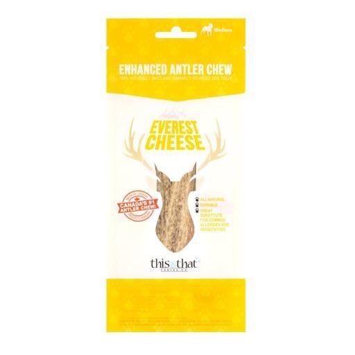 This & That Enhanced Antler Chews Everest Cheese XL
