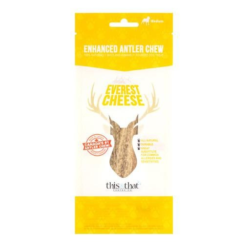 This & That Enhanced Antler Chews Everest Cheese Medium