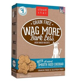 Cloud Star Cloud Star Wag More Bark Less Biscuits Smooth Aged Cheddar 14oz
