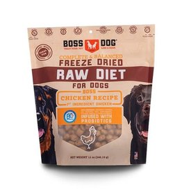 Boss Dog Boss Dog Freeze Dried Complete Diet Chicken 12oz