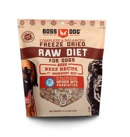 Boss Dog Boss Dog Freeze Dried Complete Diet Beef 12oz