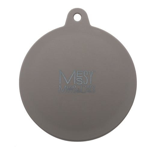 Messy Mutts Messy Mutts Silicone Can Cover Grey