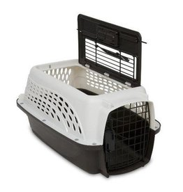 Petmate Petmate 2 Door Top Load Kennel White & Coffee 19""