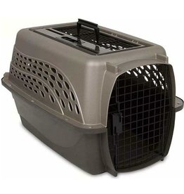 Petmate Petmate 2 Door Top Load Kennel Tan & Coffee 24""