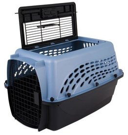 Petmate Petmate 2 Door Top Load Kennel Blue & Coffee 24""