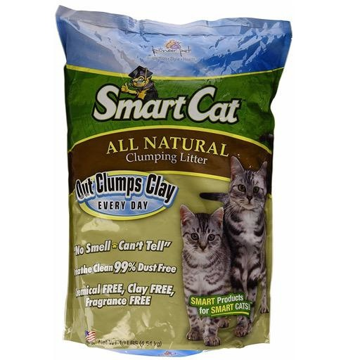 SmartCat Natural Clumping Litter 5lbs