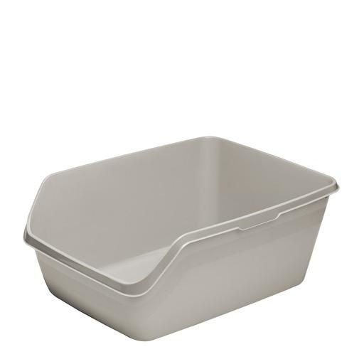 Moderna Moderna Highback Litter Tray Large Grey