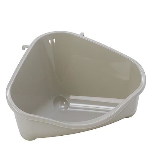 Moderna Moderna HyFit Litter Tray Grey (Corner)