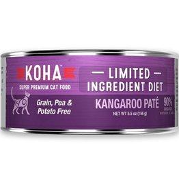 Koha Cat Can 90% Kangaroo Pate 5.5oz
