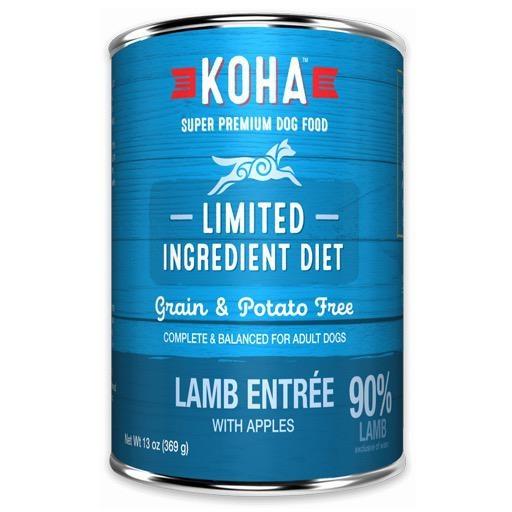 Koha Dog Can 90% Lamb Pate 13oz