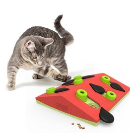 Nina Ottosson Puzzle and Play Melon Madness Cat Puzzle