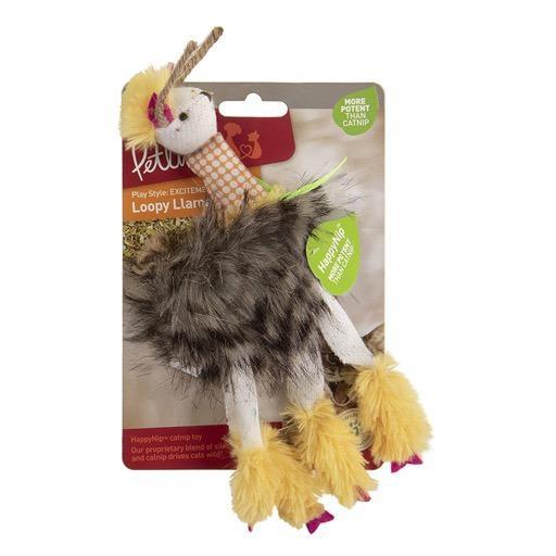 Petlinks Petlinks HappyNip Loopy Llama Plush Catnip