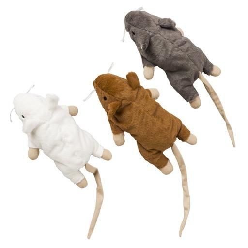 """Ethical Ethical Big Mouse Bertha 7"""" Catnip Toy"""
