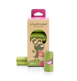 Earth Rated Earth Rated Lavender Scent PoopBags on Rolls 120ct