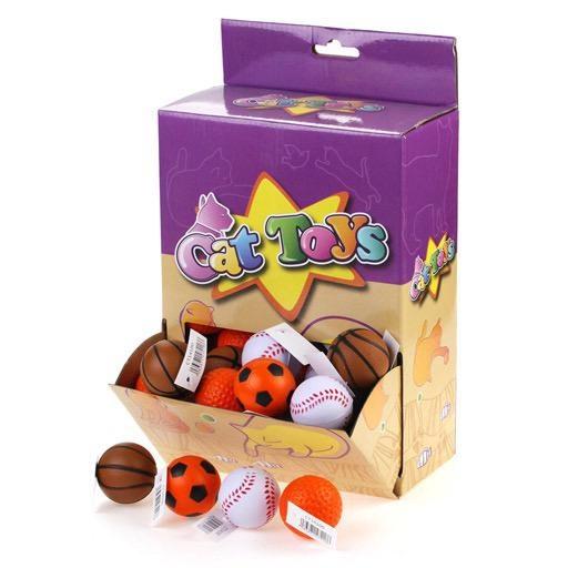 "WonPet WonPet Sponge Sports Balls 1.5"""