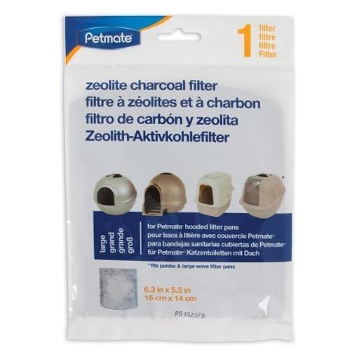 Petmate Petmate Zeolite Charcoal Hooded Litter Box Filter