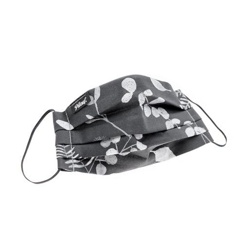 Pilouf Pilouf Protective Reusable Mask Feuille Gris L
