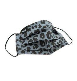Pilouf Pilouf Protective Reusable Mask Leopard Gris L