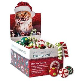 Dharma Dog Karma Cat Dharma Dog Karma Cat Christmas Jingle Balls & Candy Canes