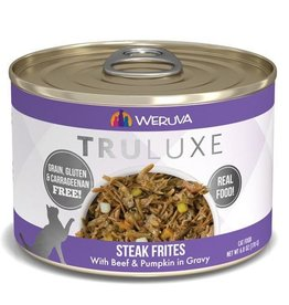 Weruva Truluxe Steak Frites Cat Can 6oz