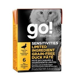 Petcurian GO! Tetra Pak Cat Duck Paté 6.4oz