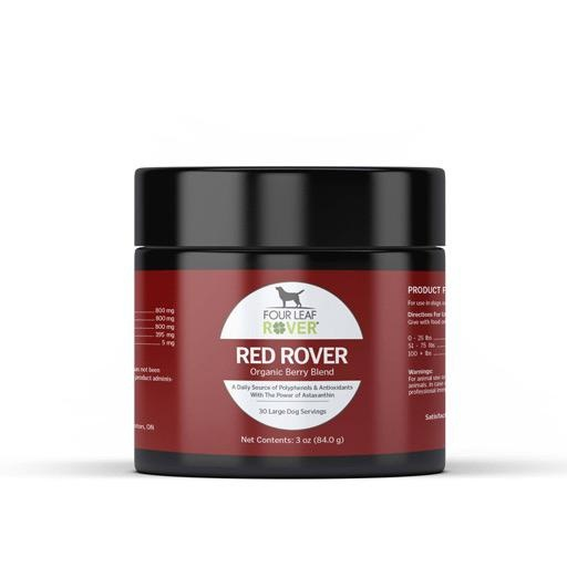 Four Leaf Rover Four Leaf Rover Red Rover Astaxanthin & Organic Berries for Dogs 84g