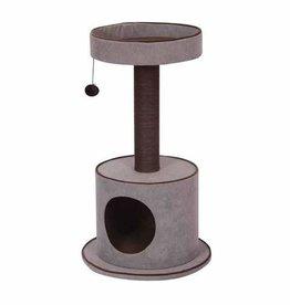 Petpals Petpals 2-Level Cat Tree Chenille w/Condo