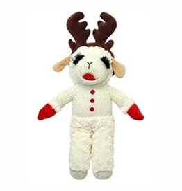"""MultiPet MultiPet Holiday Standing Lamb Chop w/Antlers 13"""""""