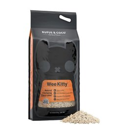 Rufus & Coco Rufus & Coco Wee Kitty Clumping Corn Litter 9kg