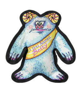 Fuzzu Fuzzu Wild Woodies A Yeti Named Betty Dog Toy