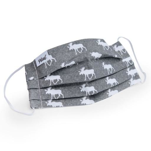 Pilouf Pilouf Protective Reusable Mask Grey Moose L