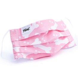 Pilouf Pilouf Protective Reusable Mask Pink Bones L