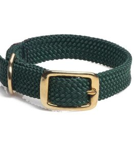 Mendota Double Braided Collar Brass Hardware