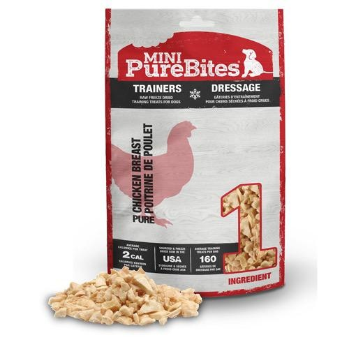 Pure Bites Pure Bites Mini Trainer Freeze Dried Chicken Treats 60g