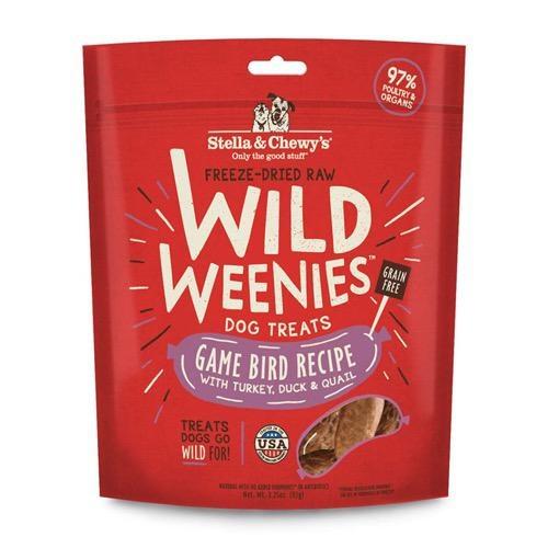 Stella & Chewy's Stella & Chewy's Wild Weenies Freeze Treats Gamebird 3.25oz