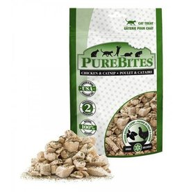 Pure Bites Pure Bites Freeze Dried Chicken Breast & Catnip Cat Treats 330g