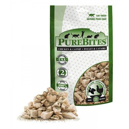Pure Bites Pure Bites Freeze Dried Chicken Breast & Catnip Cat Treats 37g