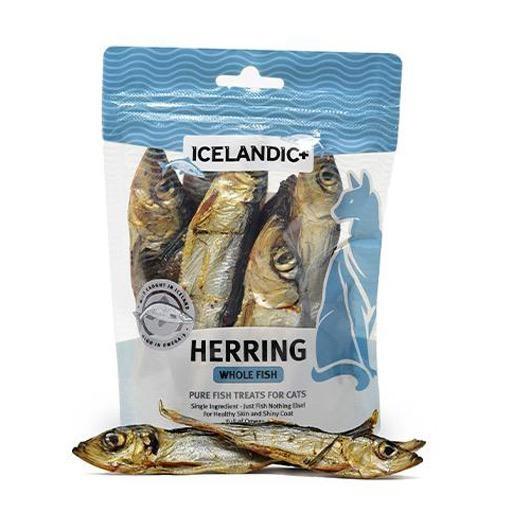 Icelandic+ Icelandic+ Herring Whole Fish Cat Treat 42.5g