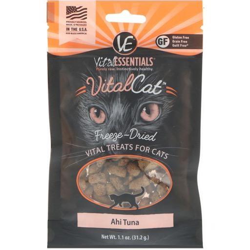 Vital Essentials Vital Cat Ahi Tuna Freeze Dried Treats 31.2g