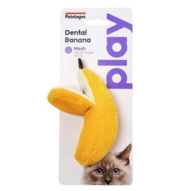 Petstages Dental Banana Crinkle & Catnip