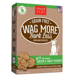 Cloud Star Cloud Star Wag More Bark Less Itty Bitty Biscuits Chicken & Sweet Potatoes 7oz