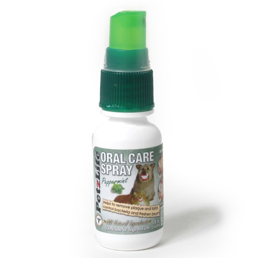 PetzLife Oral Care Spray Peppermint 1oz