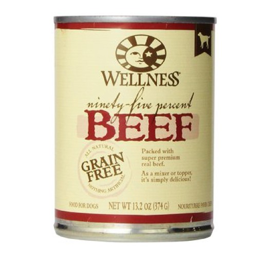 Wellness Wellness Dog 95 Percent Can Beef 13oz