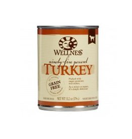 Wellness Wellness Dog 95 Percent Can Turkey 13oz