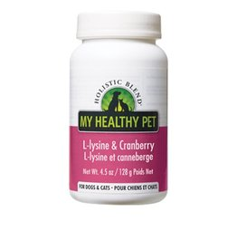 Holistic Blend Holistic Blend L-Lysine & Cranberry 128g