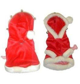 Monkey Daze Santa Hoodie with Bells