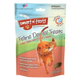 Emerald Pet Products Smart n' Tasty Feline Dental Treat Salmon 3oz