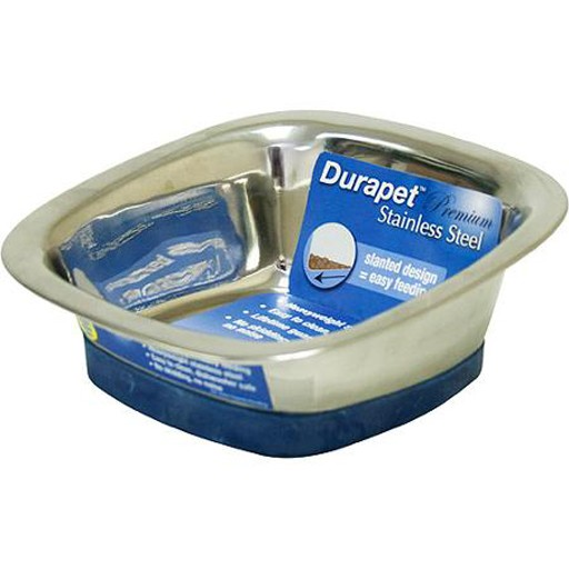 Our Pets Our Pets Durapet Square Bowl Medium