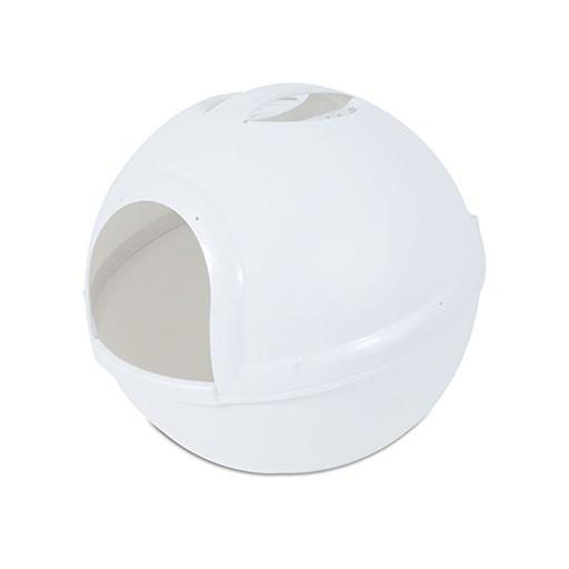 Petmate Petmate Booda Dome Litter Box Pearl White