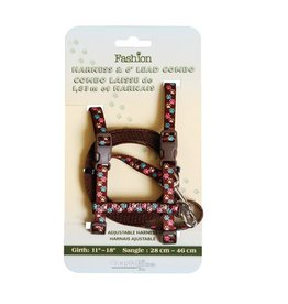 "Coastal Coastal Figure ""H"" Cat Harness with 6' Lead"